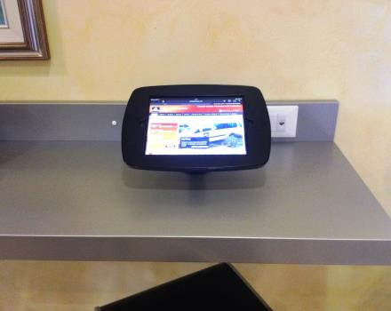 iPad available for the guests of Hotel Cristallo Rovigo