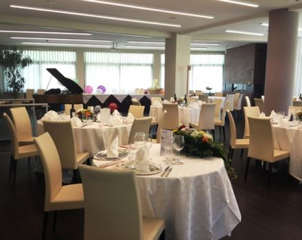 Plan your Wedding at the restaurant Cristallo Rovigo