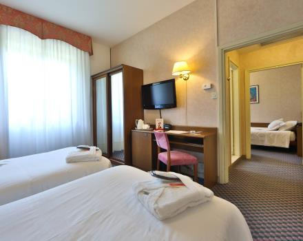 The best triple rooms only at the Best Western Hotel Cristallo, 3 stars in Rovigo. Triple rooms starting from 98 € per night.