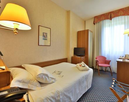 the best rates for single rooms only at the Best Western Hotel Cristallo 3 stars in Rovigo, rooms from 60€